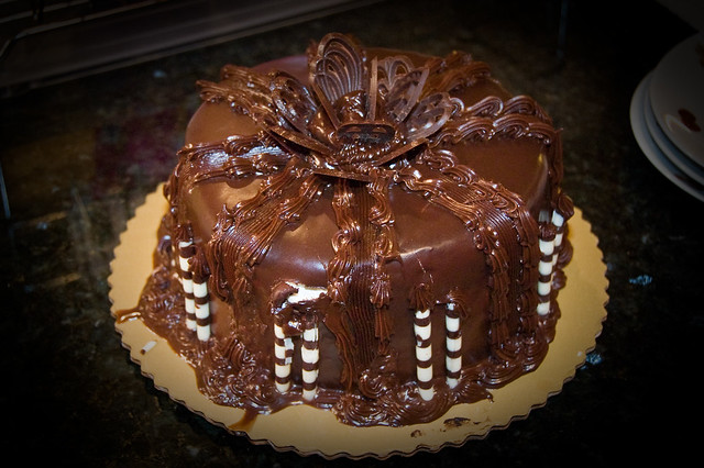 Chocolate Ganache Cake from Publix | Flickr - Photo Sharing!