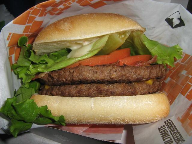 Double Bacon Cheddar Cibata Burger IMG_0008 | Flickr - Photo Sharing!
