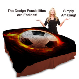 Soccer bedding for cool boys and girls flickr photo sharing
