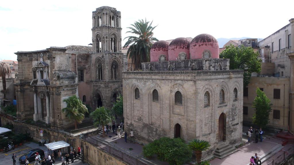 Palermo- La Martorana e San Cataldo