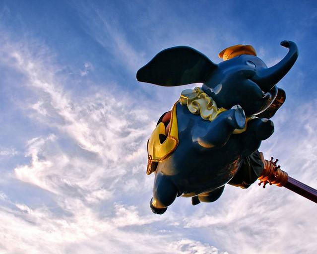 Disney - Dumbo the Flying Elephant (Explored)