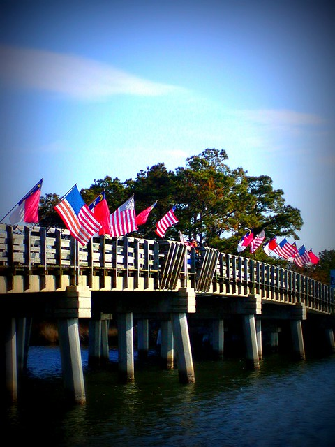 From the Archives - The Bridge to Roanoke Festival Park in Manteo