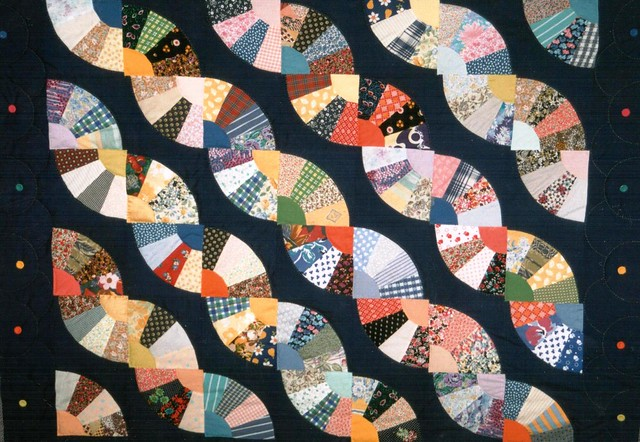 Quilt Pattern For Grandmother S Fan : Grandmothers Fan Quilt Flickr - Photo Sharing!
