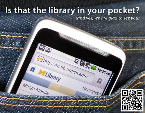 Is that the library in your pocket? (regular screen)