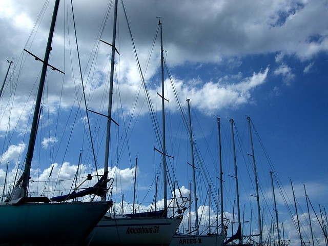 Yachts by *impalaark, on Flickr