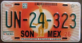 MEXICO, SONORA c.2000 Private Truck