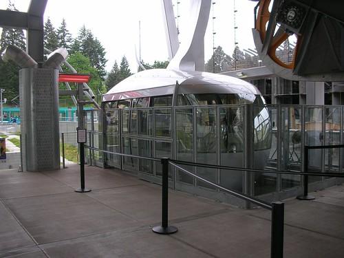 Portland Aerial Tram car