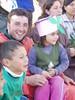 Con los niños de Merlo