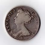 Queen Anne Half- Crown 1707