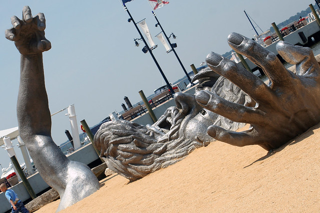 Re awakening had to visit the newly relocated the for Awakening sculpture national harbor