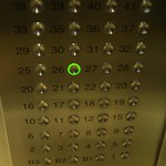 Elevator Buttons - Beijing, China
