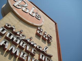 Image of Bob's Big Boy. landmark historic signage burbank bobs bobsbigboy