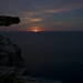 Moonrise Wattamolla Cliffs - Timelapse