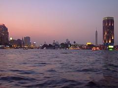 Nile Sundown - Cairo Egypt