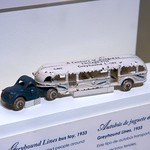 Greyhound Lines bus toy from 1933