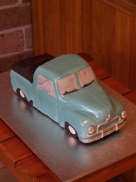 Fj Holden Ute Cake I Carved This From A Fruit Cake And