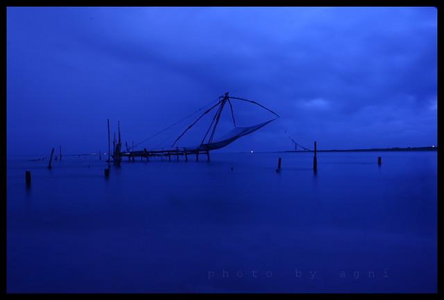 Morning blue
