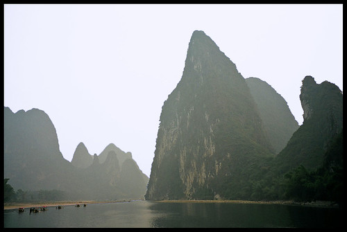 LI RIVER (Li Jiang), Guilin to Yanshuo, Guangxi, China  (II)