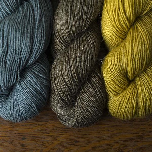 Skeins, elderberry & goldenrod