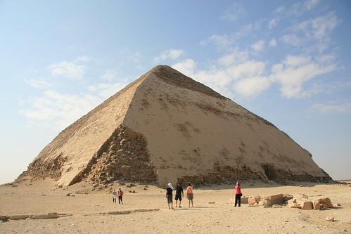 La piramide romboidale a Dashur