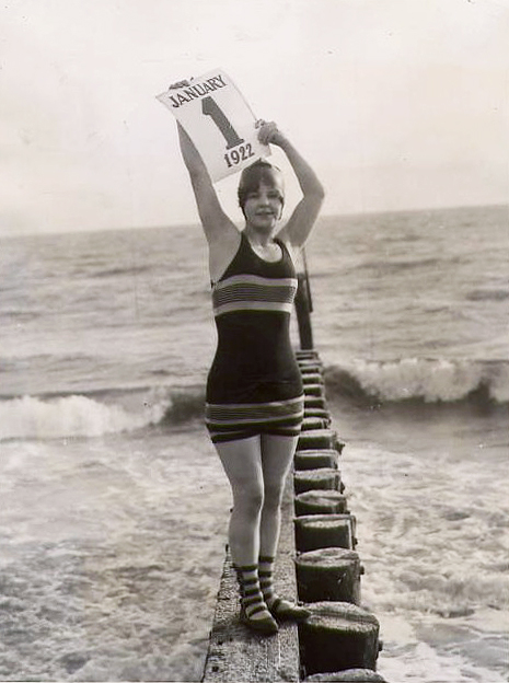new year's bathing suit 1922