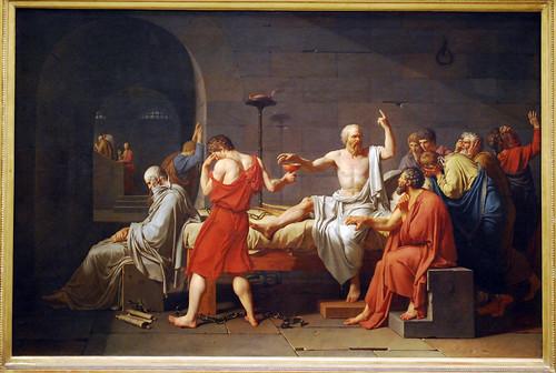NYC - Metropolitan Museum of Art - Jacques-Louis David - The Death of Socrates