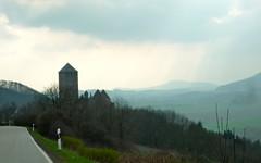 Burg Lichtenburg dusk