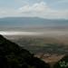 Looking Down into Ngorongoro Crater - Tanzania