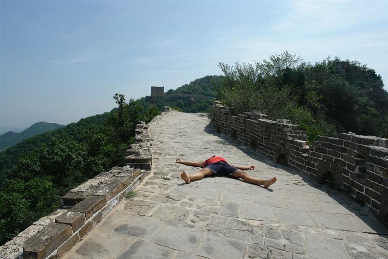 Tomando el Sol sobre la Muralla Simatai, en las alturas de la Gran Muralla China - 2507896101 8d03510241 o - Simatai, en las alturas de la Gran Muralla China