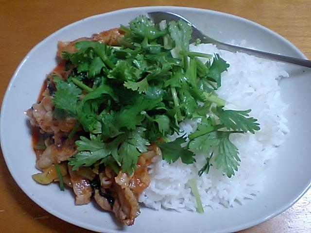 アジアンな晩ご飯。