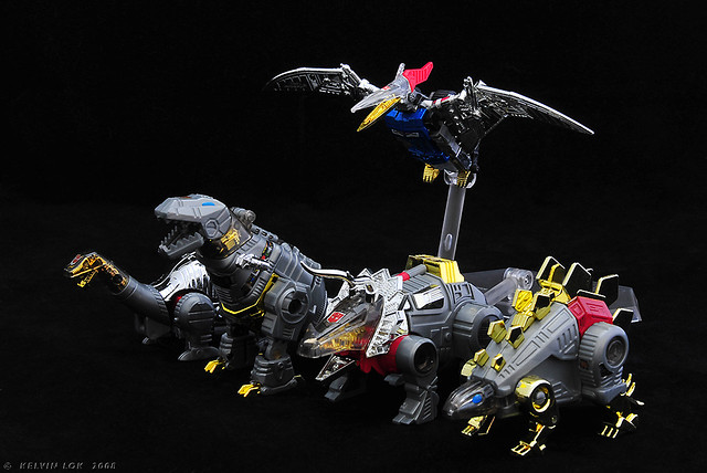 Behold, the Dinobots!