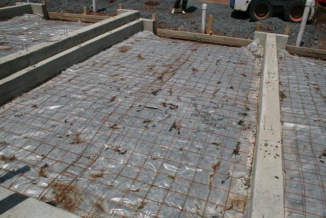Moisture Barrier And Rebar For Garage Floor Explore