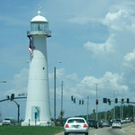 Biloxi Lighthouse (built 1848)