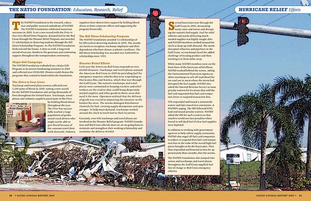 NATSO annual report spread