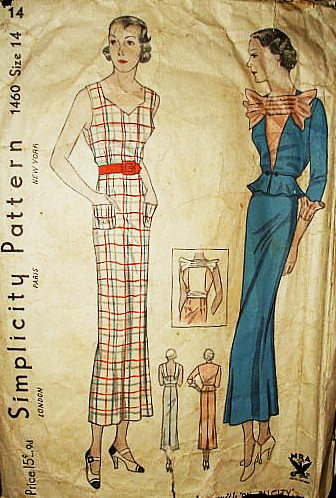 simplicity dress 1460