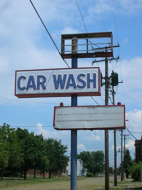 abandoned car wash sign portsmouth ohio flickr photo sharing. Black Bedroom Furniture Sets. Home Design Ideas