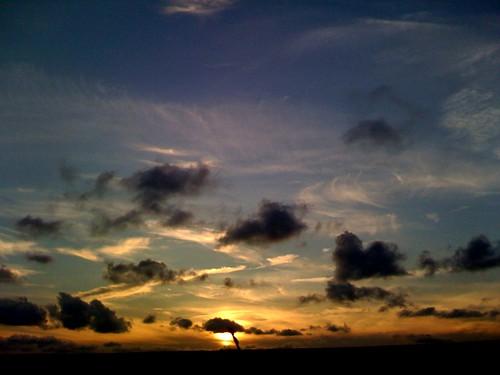 sunset iphone
