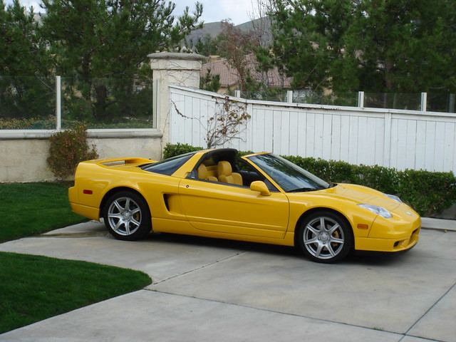 2004 acura nsx yellow orange county 2004 flickr. Black Bedroom Furniture Sets. Home Design Ideas