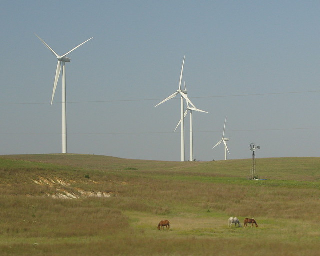 Smoky Hills Wind Farm, KS