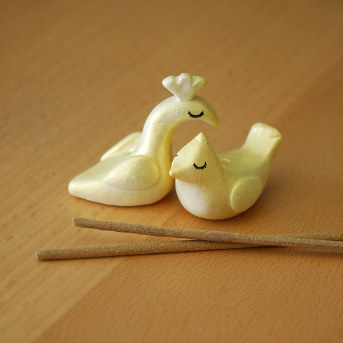 Bird incense burner - incense holder