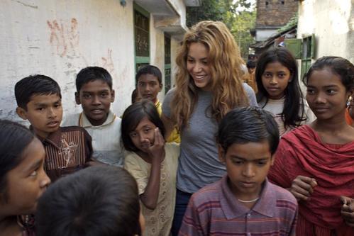 Shakira's humanitarian visit to Bangladesh 2