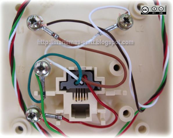 Emtt cableados en rosetas telef nicas for Poner linea telefonica en casa