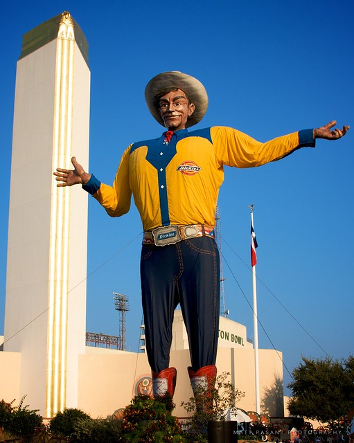 Big Tex Flickr Photo Sharing