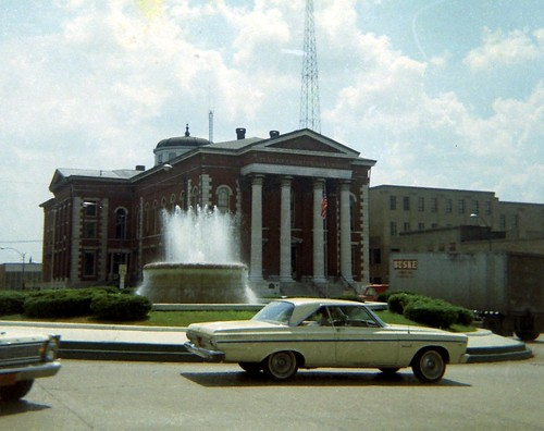 The Square, Belleville, Illinois 1960s