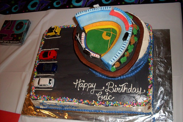 10 18 2008 Eric S 40th Birthday Party Dodger Stadium