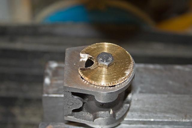 Jig for milling Steam Ports | Tudor Barker | Flickr