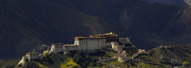 Potala Palace པོ་ཏ་ལ ,  Lhasa  ལྷ་ས། , Tibet  བོད།
