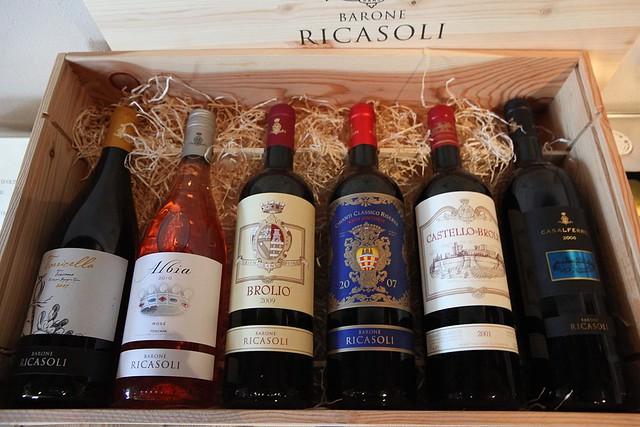Barone Ricasoli wines