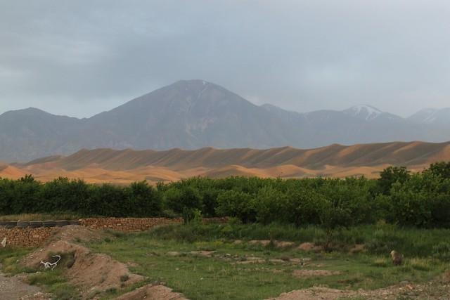 Near the Azerbaijan border.