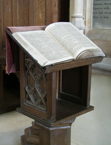 Old Reading Lectern